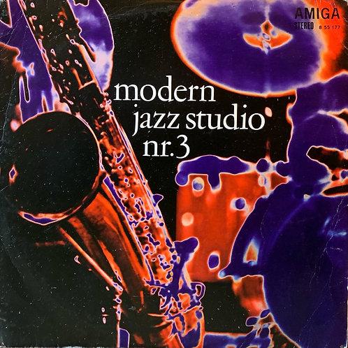 Volkmar Schmidt Combo / Michael Fritzen Quartett / Modern Jazz Studio Nr.3