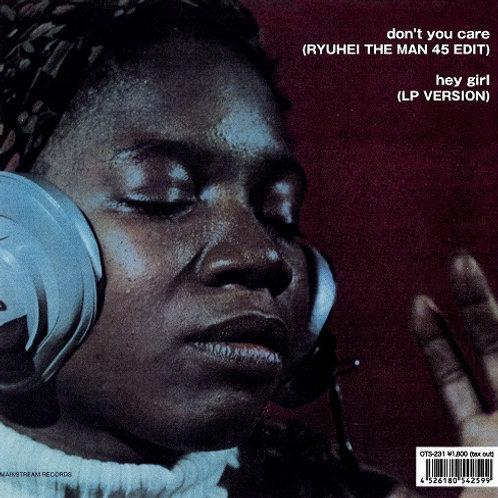 Alice Clark / Don't You Care (RYUHEI THE MAN 45 EDIT)