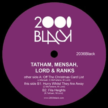 Tatham Mensah Lord & Ranks / Off The Christmas Card List