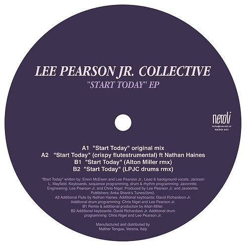 Lee Pearson JR Collective / Start Today EP