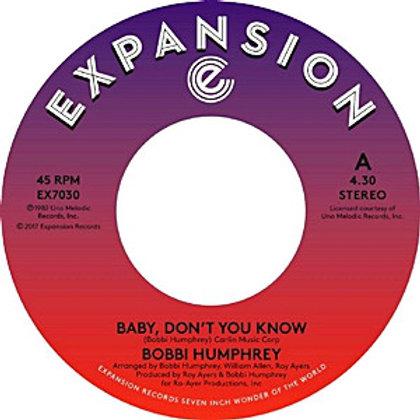 Bobbi Humphrey / Baby,Don't You Know c/w Baby Don't You Know (Instrumental)