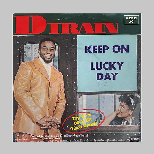 D-Train / Keep On c/w Lucky Day
