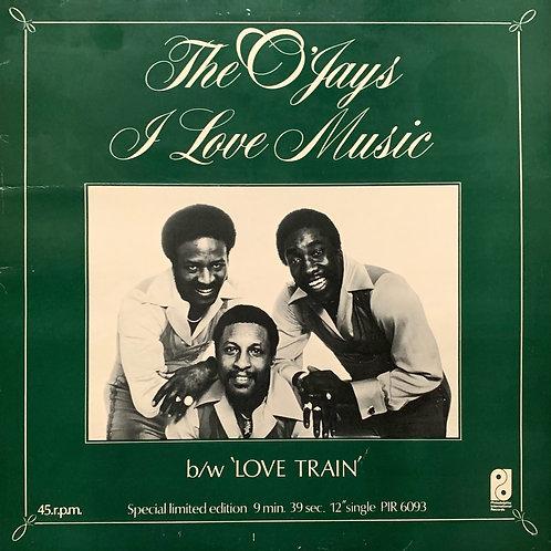 The O'Jays / I Love Music c/w Love Train