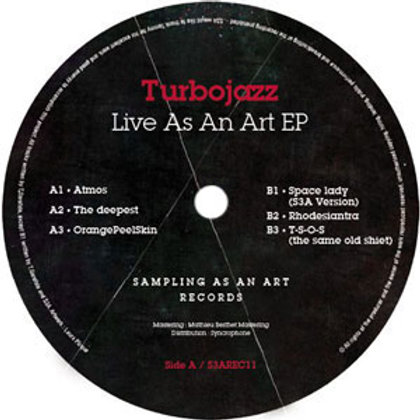 TurboJazz / Live As An Art EP
