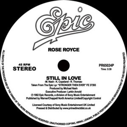 Rose Royce / Still In Love
