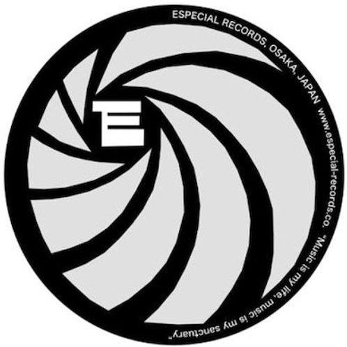 """Especial Records / オフィシャル・スリップ・マット (ブラック x シルバー) 【12""""サイズ】*2枚セット"""