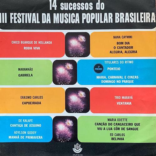 Various / 14 Sucessos Do III Festival Da Musica Popular Brasileira