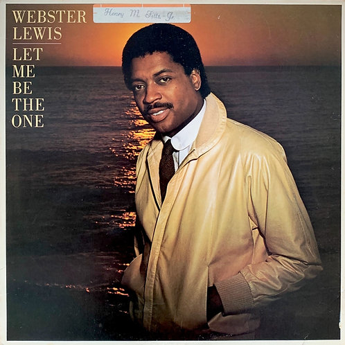 Webster Lewis / Let Me Be The One