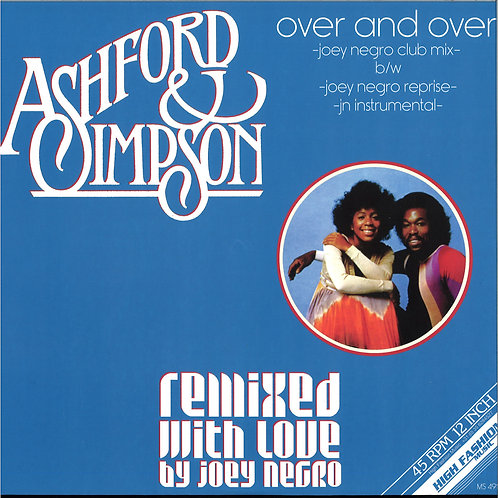 Ashford & Simpson / Over And Over (Joey Negro Remixes)