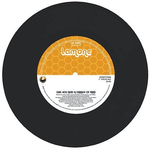 Lamone / Girl You Need A Change Of Mind (Honeycomb Mixes)