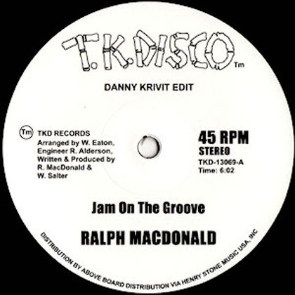 Ralph Macdonald/Foxy / Jam On The Groove/Get Off (Danny Kirivit Edits)
