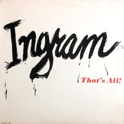 Ingram / That's All
