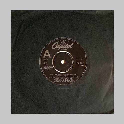 B.B. & Q. Band / On The Beat (Edited Version) c/w Lovin's What We Should Do
