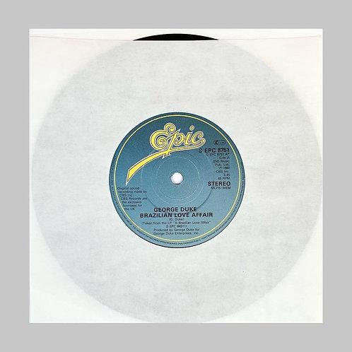 George Duke / Brazilian Love Affair c/w Summer Breezin'
