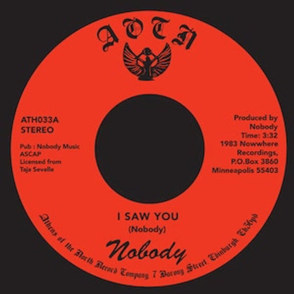 Nobody / I Saw You c/w Heaven's Love