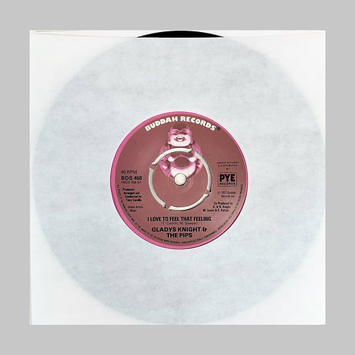 Gladys Knight & The Pips / I Love To Feel That Feeling c/w Baby Don't Change You