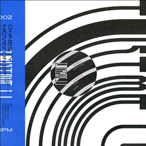 Ohnesty / Movin On' EP (Inc. Happa Remix)