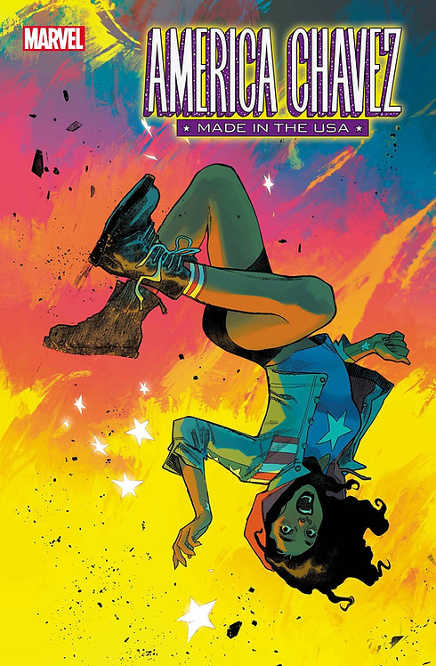 AMERICA CHAVEZ MADE IN USA #4 (OF 5) (07/07/2021)
