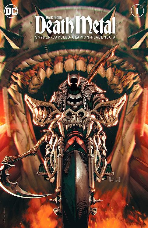 DARK NIGHTS DEATH METAL #1 KAEL NGU EXCLUSIVE VAR