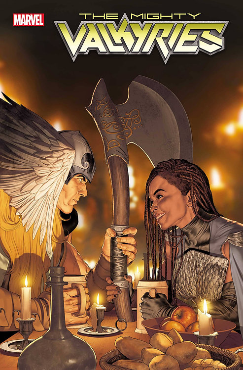 MIGHTY VALKYRIES #5 (OF 5)