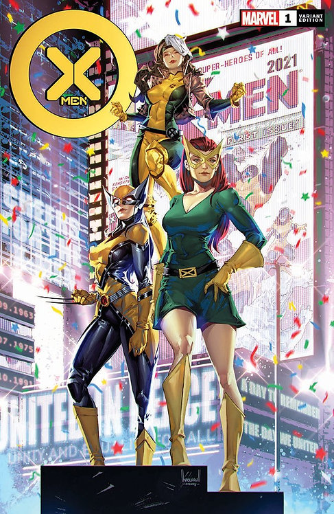 X-MEN #1 KAEL NGU (07/07/2021)