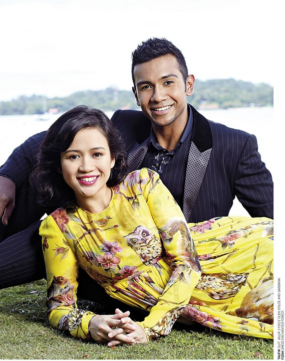 Taufik Batisah and Fizah Nizam for Manja