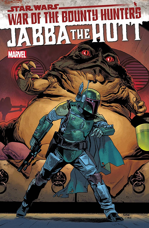 STAR WARS WAR BOUNTY HUNTERS JABBA HUTT #1 (07/21/2021)