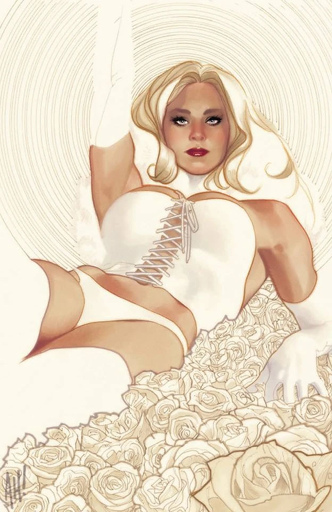 X-MEN BLACK EMMA FROST #1 ADAM HUGHES EXCLUSIVE VIRGIN VARIANT