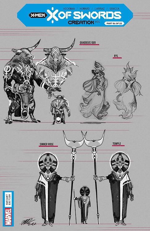 X OF SWORDS CREATION #1 LARRAZ DESIGN VAR 1:10