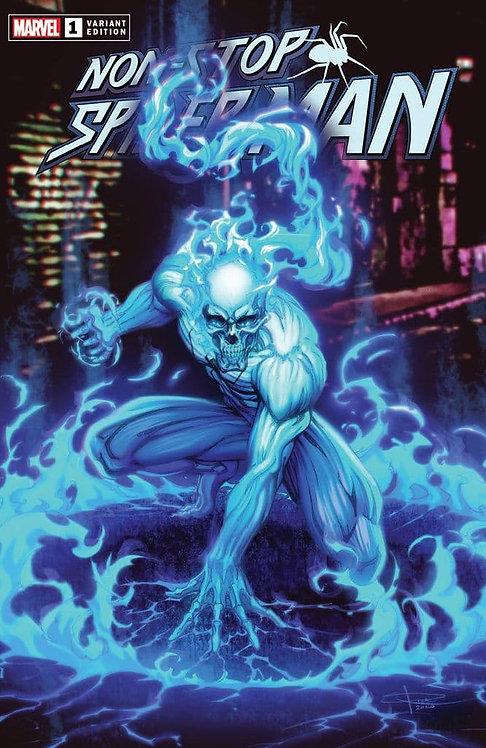 NON-STOP SPIDER-MAN #1 SPIRIT SPIDER SABINE RICH VIRGIN EXCLUSIVE (03/03/2021)