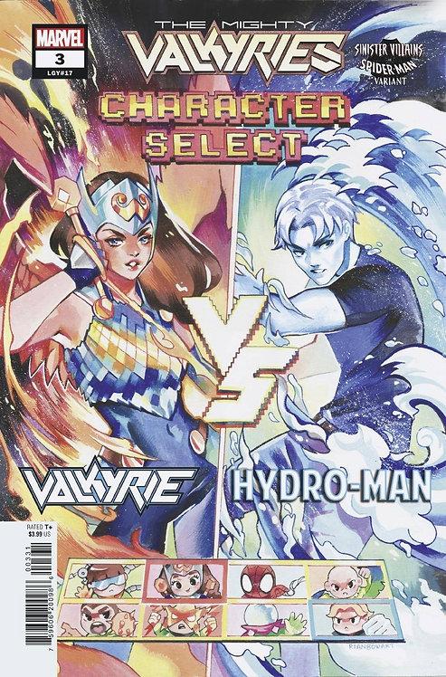 MIGHTY VALKYRIES #3 (OF 5) SPIDER-MAN VILLAINS VAR