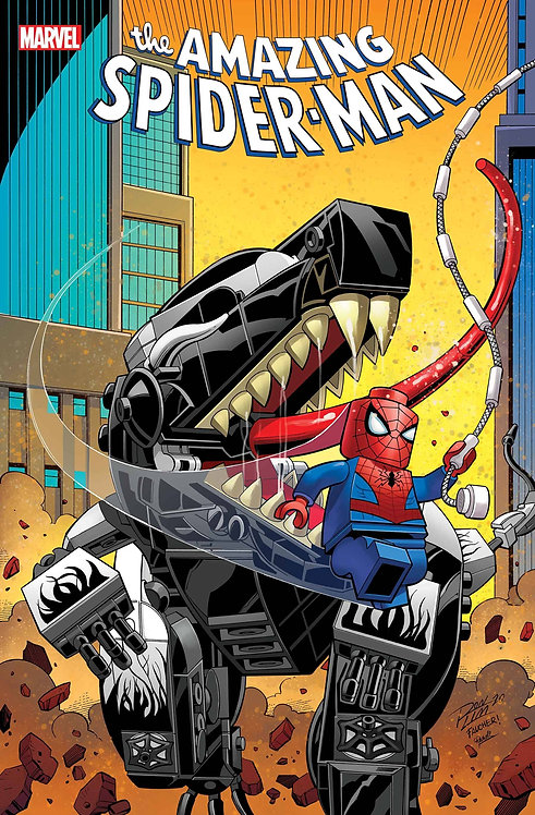 AMAZING SPIDER-MAN #55 RON LIM LEGO VAR LR (12/30/2020)