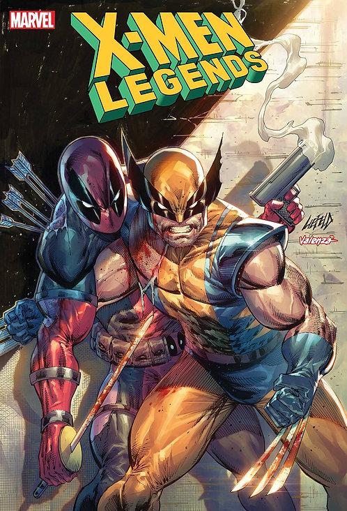 X-MEN LEGENDS #4 LIEFELD DEADPOOL 30TH VAR