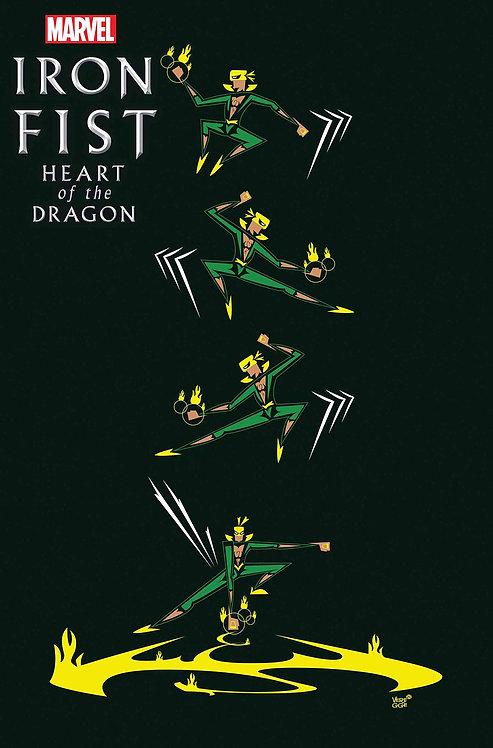 IRON FIST HEART OF DRAGON #3 (OF 6) VEREGGE VAR (03/17/21)