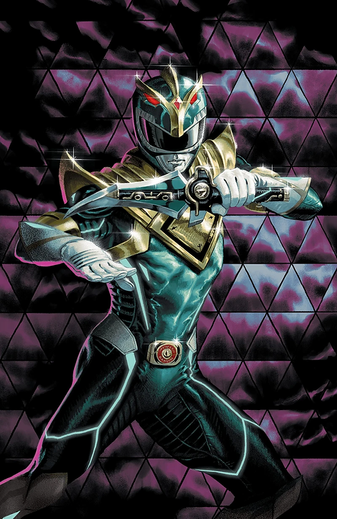 MIGHTY MORPHIN POWER RANGERS #55 STEVE MORRIS GLOW IN THE DARK COVER (10/21/20)