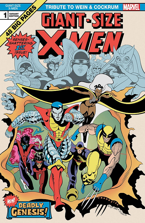 GIANT SIZE X-MEN TRIBUTE WEIN COCKRUM #1 MOORE VAR