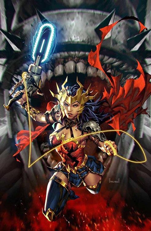 DARK NIGHTS DEATH METAL #1 KAEL NGU EXCLUSIVE WONDER WOMAN