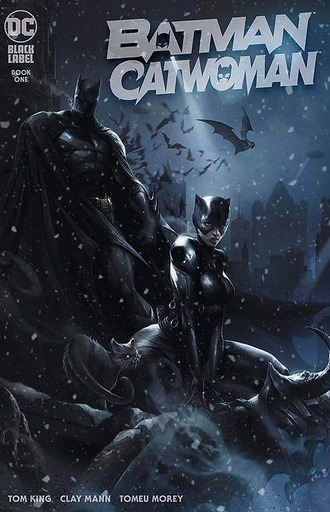 BATMAN CATWOMAN #1 MATTINA EXCLUSIVE TRADE VARIANT (12/1/20)