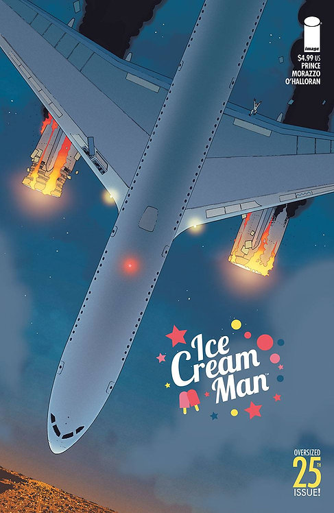 ICE CREAM MAN #25 CVR A MORAZZO & OHALLORAN (MR)