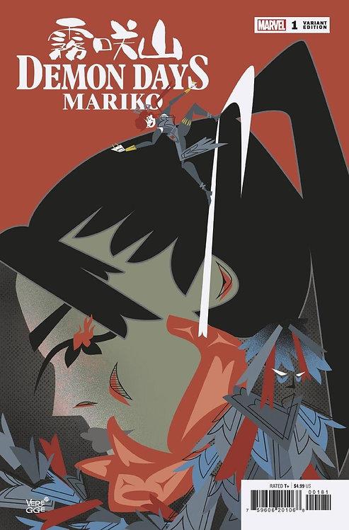 DEMON DAYS MARIKO #1 VEREGGE VAR