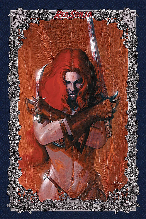 RED SONJA : AGE OF CHAOS #2 GABRIELE DELL'OTTO 1:60 RATIO VARIANT