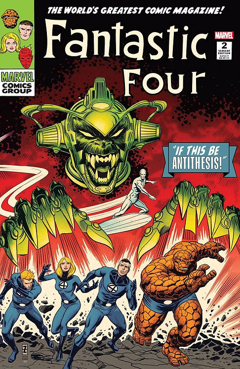 FANTASTIC FOUR : ANTITHESIS #02 PATRICK ZIRCHER EXCLUSIVE (09/23/20)