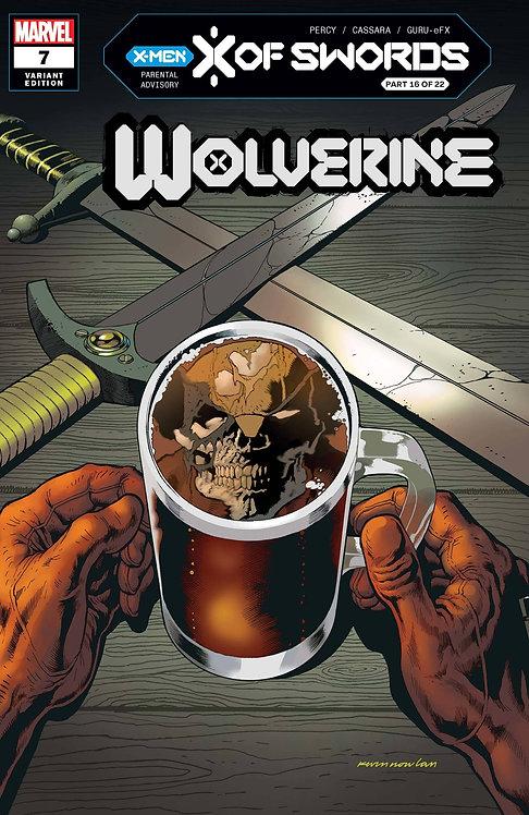 WOLVERINE #7 NOWLAN VAR XOS