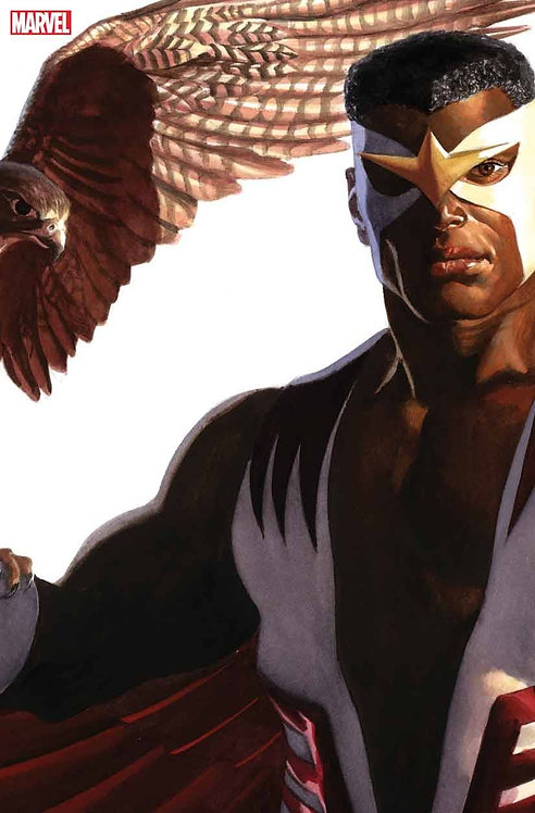 CAPTAIN AMERICA #24 ALEX ROSS FALCON TIMELESS VAR