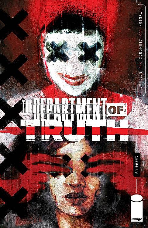 DEPARTMENT OF TRUTH #9 CVR A SIMMONDS (MR) (05/26/21)