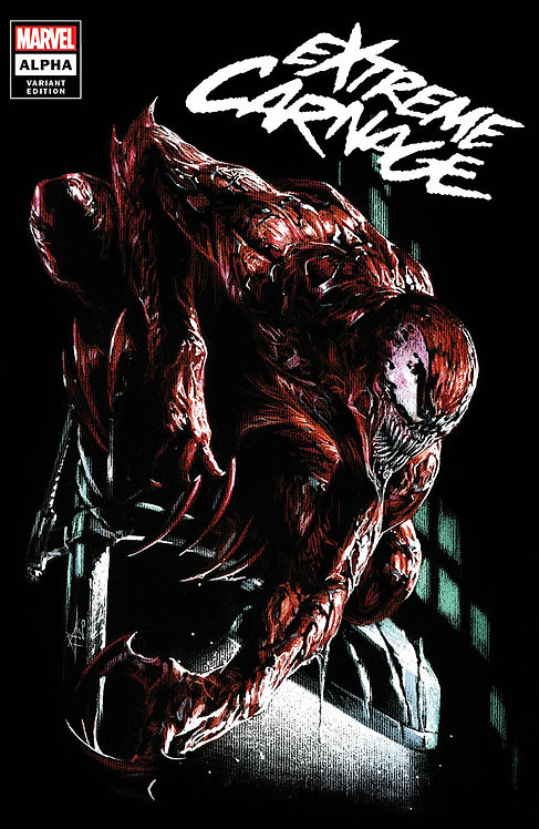 EXTREME CARNAGE ALPHA #1 GABRIELE DELL'OTTO EXCLUSIVE - LTD 600