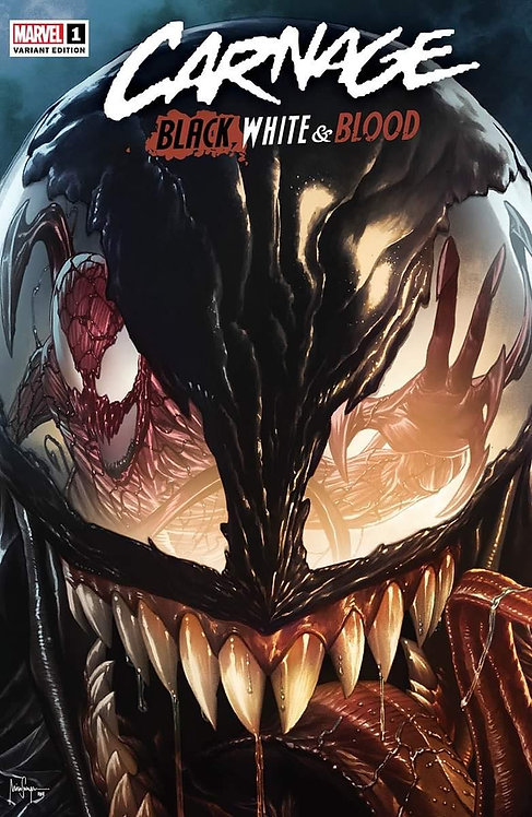 CARNAGE BLACK WHITE AND BLOOD #1 (OF 4) MICO SUAYAN EXCLUSIVE