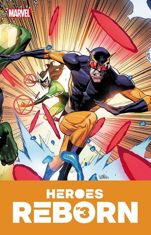 HEROES REBORN #3 (OF 7)
