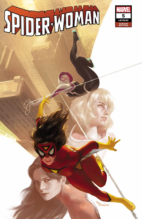 SPIDER-WOMAN #05 MIGUEL MERCADO EXCLUSIVE