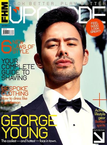 George Young for FHM SINGAPORE
